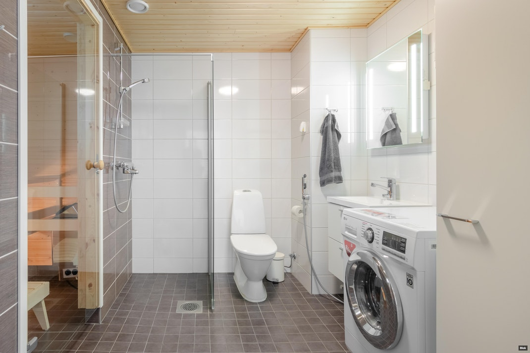 Helmipöllönkatu 7 E 44 Kylpyhuone & Sauna