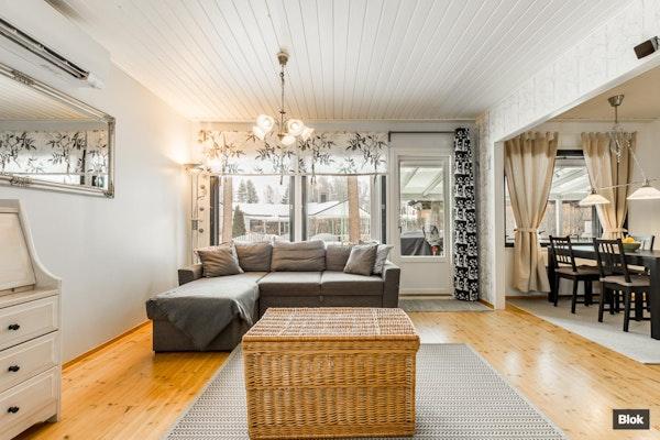 Kaunis ja käytännöllinen paritalon asunto - Kuoppakuja 6 A 1