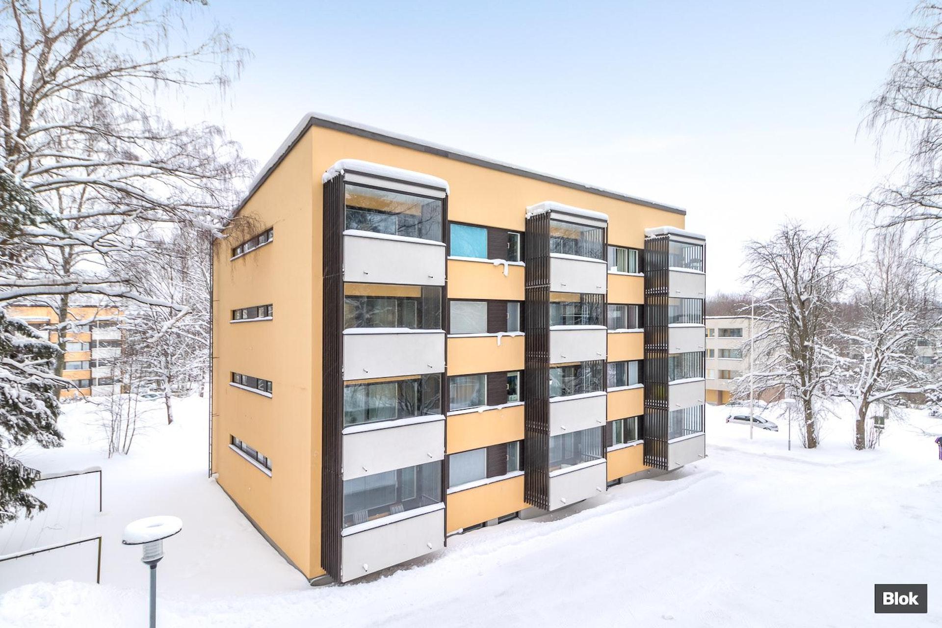 Putkiremontoitu kaksio Helsingin Konalassa