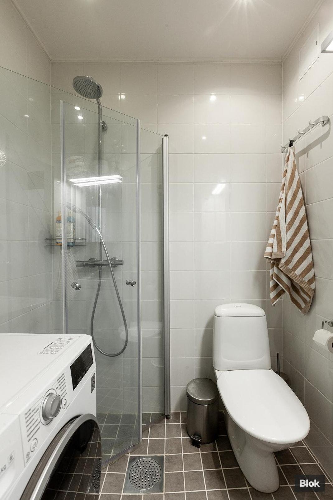 Kuusitie 2 B 63 Kylpyhuone