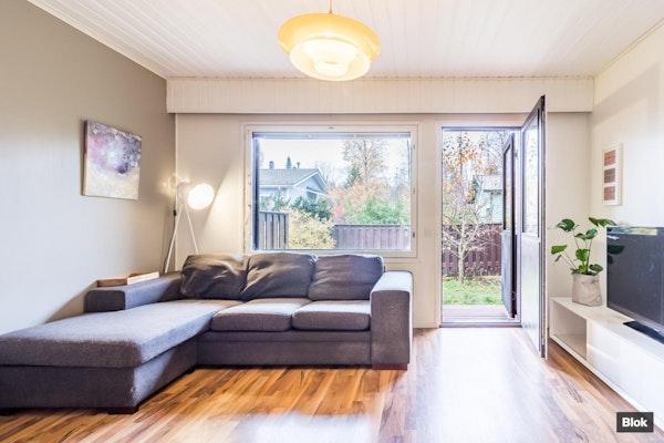 Harvinainen yksiö, jossa on sauna sekä piha - Kytötie 45b Asunto 1