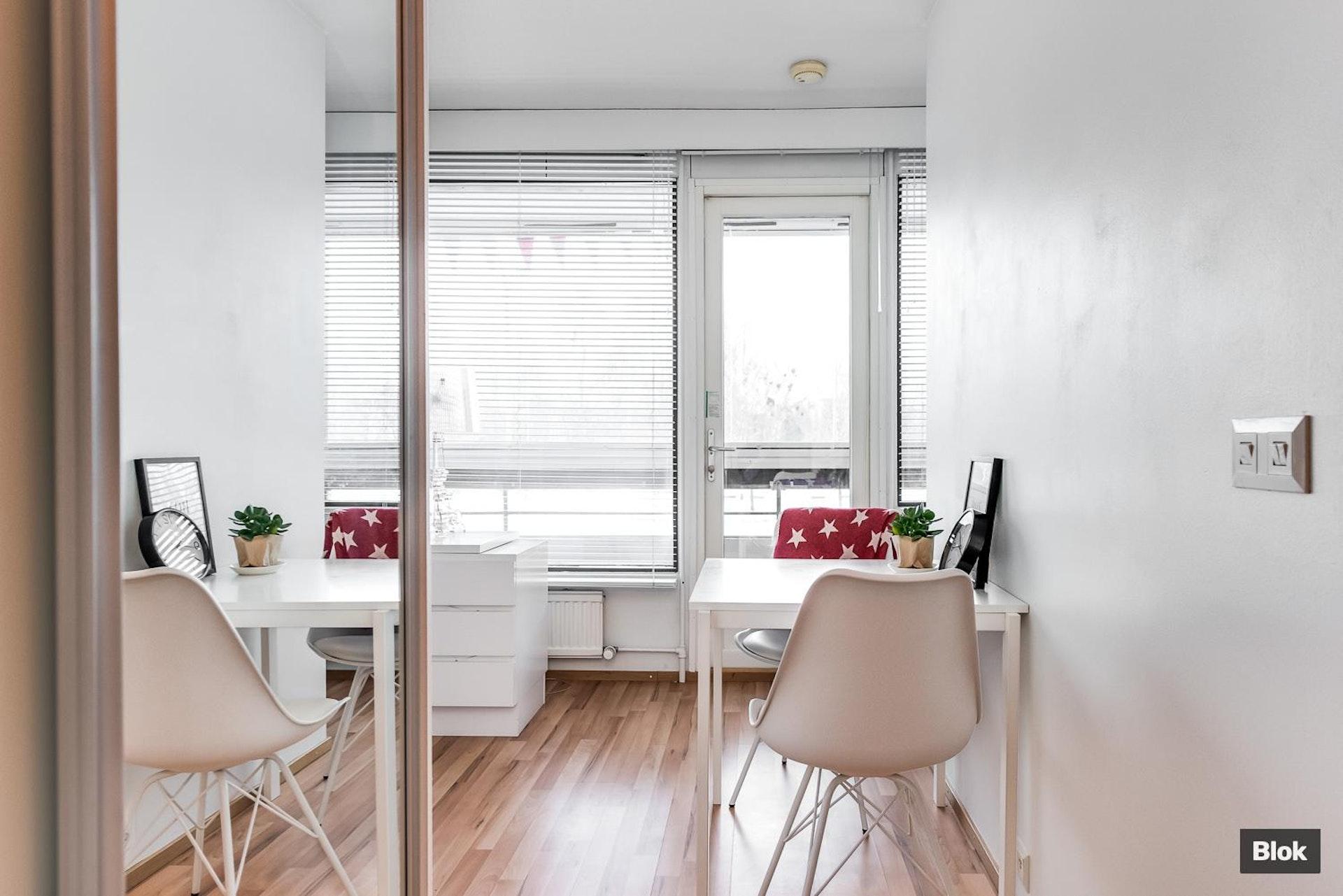 Kompakti asunto Oulun Raksilassa